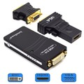 ADAPTADOR DE VÍDEO USB 2.0 X DVI / VGA / HDMI FULL HD LEAVES - 180