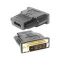 ADAPTADOR DVI-D MACHO (24 + 1) X HDMI FÊMEA DEX - DH10 / KNUP - KP-5061