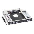 ADAPTADOR UNIVERSAL DE HD 2,5 P/ LEITOR DE DVD C/ 12,7MM DE ALTURA EXBOM - 2888