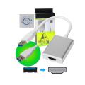 CABO ADAPTADOR USB 3.0 MACHO X HDMI FÊMEA DEX - AD-902H