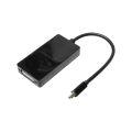 CABO ADAPTADOR MINI DISPLAYPORT MACHO X HDMI F / VGA F / DVI-I F DEX - AD-905A / LELONG - LE-5576