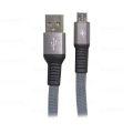 CABO DE DADOS FLAT USB 2.1A P/ SAMSUNG (V8) C/ 1,0M E MALHA EXBOM - 2948