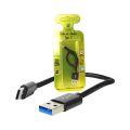 CABO DE DADOS USB 4A P/ TYPE-C C/ 20CM X-CELL - XC-CD-69
