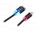 CABO DE DADOS USB ILUMINADO P/ IPHONE 5 C/ 1,0M EXBOM - 2753