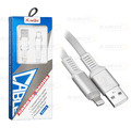 CABO DE DADOS USB P/ IPHONE 5 C/ 1,0M / MALHA / INDICADOR LED KINGO - 2100002017490
