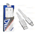CABO DE DADOS USB P/ SAMSUNG (V8) C/ 1,0M / MALHA / INDICADOR LED KINGO