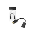 CABO DISPLAYPORT MACHO X HDMI FÊMEA LEAVES - DP-H / STORM / SHINKA - AT-DP-HD / TOMATE - MTV-602 / DEX - AD-902A