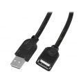 CABO EXTENSÃO USB 2.0 MACHO X FÊMEA C/ 1,50M EXBOM - 3507