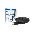 CABO HDMI FLAT 1.4 4K 3D C/ 5,0M E MALHA KNUP - KP-H51000 5M