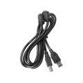 CABO P/ IMPRESSORA USB 2.0 AM X BM 1,80M HITTO - AM/BM PTO / DEX - C-20 / LELONG LE-902-1.8M / SHINKA - CB-IMP/2M