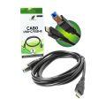 CABO P/ IMPRESSORA USB 3.1 TYPE-C X USB B 3.0 C/ 2,0M X-CELL - XC-CI-06