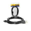CABO USB 2.0 MACHO X USB MINI 5 PINOS MACHO (V3) C/ 1,50M B-MAX - 8664