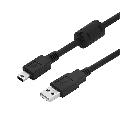 CABO USB COMPATÍVEL C/ CONTROLE PS3 (V3) C/ 1,80M KNUP - KP-5059 / XTRAD - XT-2035