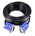 CABO VGA HD15M X HD15M C/ FILTRO 10,0M (PLÁSTICO) SHINKA - 343C2-10 / VERDE - VGA-10
