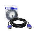 CABO VGA HD15M X HD15M C/ FILTRO 5,0M (PLÁSTICO) ALLTECH / KNUP - KP-5002 (5M)