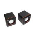 CAIXA DE SOM 2.0 3W P/ PC C/ ALIMENTAÇÃO USB KNUP - KP-600