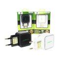 CARREGADOR USB 5V 3,4A ANATEL C/ DUAS SAÍDA USB FLEX - XC-UR-10