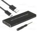 CASE SATA SSD M.2 NVME PCI-E USB 3.1 TYPE-C LEAVES - SATA