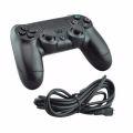 CONTROLE C/ FIO COMPATÍVEL C/ VÍDEO GAME PS4 / PC NO BLISTER SHINKA - PIV / FY - 0513