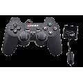 CONTROLE COMPATÍVEL C/ VÍDEO GAME PS2 EMBALAGEM PLÁSTICA XTRAD - XD020 / VERDE - PS-2-S / FY