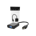CONVERSOR HDMI MACHO X VGA FÊMEA S/ ÁUDIO LEAVES / TOMATE - MTV-605