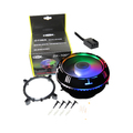 COOLER 120MM LED UNIVERSAL P/ PROCESSADOR INTEL / AMD DEX - DX-7001