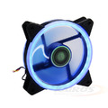 COOLER FAN 120MM X 120MM C/ 30 LEDS AZUL DUPLA FACE DEX - DX-12D