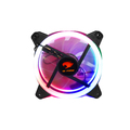 COOLER FAN 120MM X 120MM LED RAINBOW G-FIRE - EW0509R