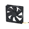 COOLER FAN 120MM X 120MM X 25MM PRETO DEX - DX-12C