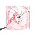 COOLER FAN 80MM X 80MM LED VERMELHO DEX - DX-8T