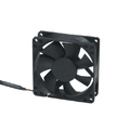 COOLER FAN 80MM X 80MM X 25MM PRETO DEX - DX-8C