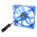 COOLER FAN AZUL 120MM X 120MM LED DEX - DX-12L