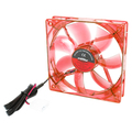 COOLER FAN VERMELHO 120MM X 120MM LED DEX - DX-12L