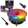 COOLER GAMER 120MM C/ 24 LEDS RGB P/ PROCESSADOR INTEL 1155 / 1156 / 1151 / 1150 DEX - DX-9009