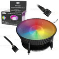 COOLER GAMER 120MM C/ 6 LEDS RGB P/ PROCESSADOR INTEL 1155 / 1156 / 1151 / 1150 DEX - DX-9007
