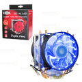 COOLER P/ PROCESSADOR INTEL / AMD C/ 21 LEDS E 2 FAN 95MM DEX - DX-9115D