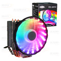 COOLER P/ PROCESSADOR INTEL / AMD C/ LED RGB E 1 FAN 120MM DEX - DX-2018