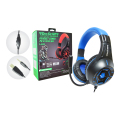FONE DE OUVIDO GAMER USB + P2 C/ AJUSTE DE VOLUME / LED P/ PS4 / XBOX ONE TECDRIVE X-CELL - PX-12 Azul