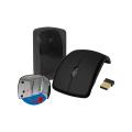 MOUSE DOBRÁVEL USB S/ FIO 2,4GHZ SHINKA - MO-116 Preto