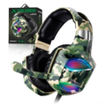 HEADFONE GAMER 7.1 CAMUFLADO USB / P2 COMPATÍVELC/ PS3 E PS4 C/ MICROFONE GH-X2700 INFOKIT - 3476
