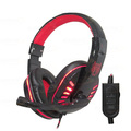 HEADFONE GAMER USB / P2 COMPATÍVEL C/ PS3 E PS4 C/ MICROFONE E LED HF-G310P4 EXBOM - 2843