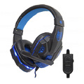 HEADFONE GAMER USB / P2 COMPATÍVEL C/ PS3 E PS4 C/ MICROFONE E LED HF-G390P4 EXBOM - 2984
