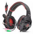 HEADSET GAMER 7.1 SOM SURROUND USB + P2 C/ LED / CONTROLE DE VOLUME P/ PC HF-G650 EXBOM - 3334