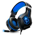 HEADSET GAMER USB E P2 SOM SURROUND P/ PC / PS4 E CELULAR C/ LED RGB GH-X1000 INFOKIT - 3235