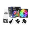 COOLER P/ PROCESSADOR INTEL / AMD C/ LED RGB E 2 FAN 120MM DEX - DX-9228W