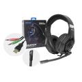 FONE DE OUVIDO GAMER USB E P2 C/ MICROFONE E LED HF-G860 EXBOM - 3783