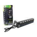 HUB USB 3.0 C/ 7 PORTAS E CHAVE LIGA E DESLIGA X-CELL - XC-HUB-7