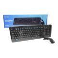 KIT MOUSE E TECLADO USB S/ FIO OFFICE MAXPRINT - 6011349