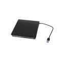 LEITOR / GRAVADOR DE CD / DVD-RW EXTERNO USB 3.0 DEX - DG-300 / LEAVES
