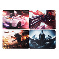 MOUSE PAD GAMER EMBORRACHADO 250MM X 210MM KNUP - KP-S03